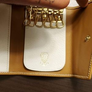 Authentic gucci wallet / key holder